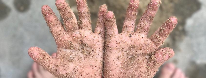 Smėlio terapijos užsiėmimai